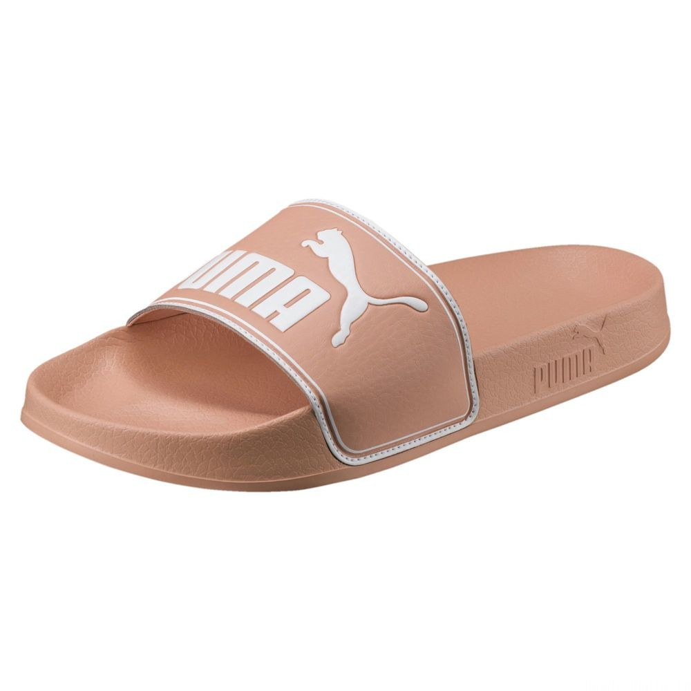 Chaussure de bain Leadcat Slide Couleur Muted Clay-Puma White