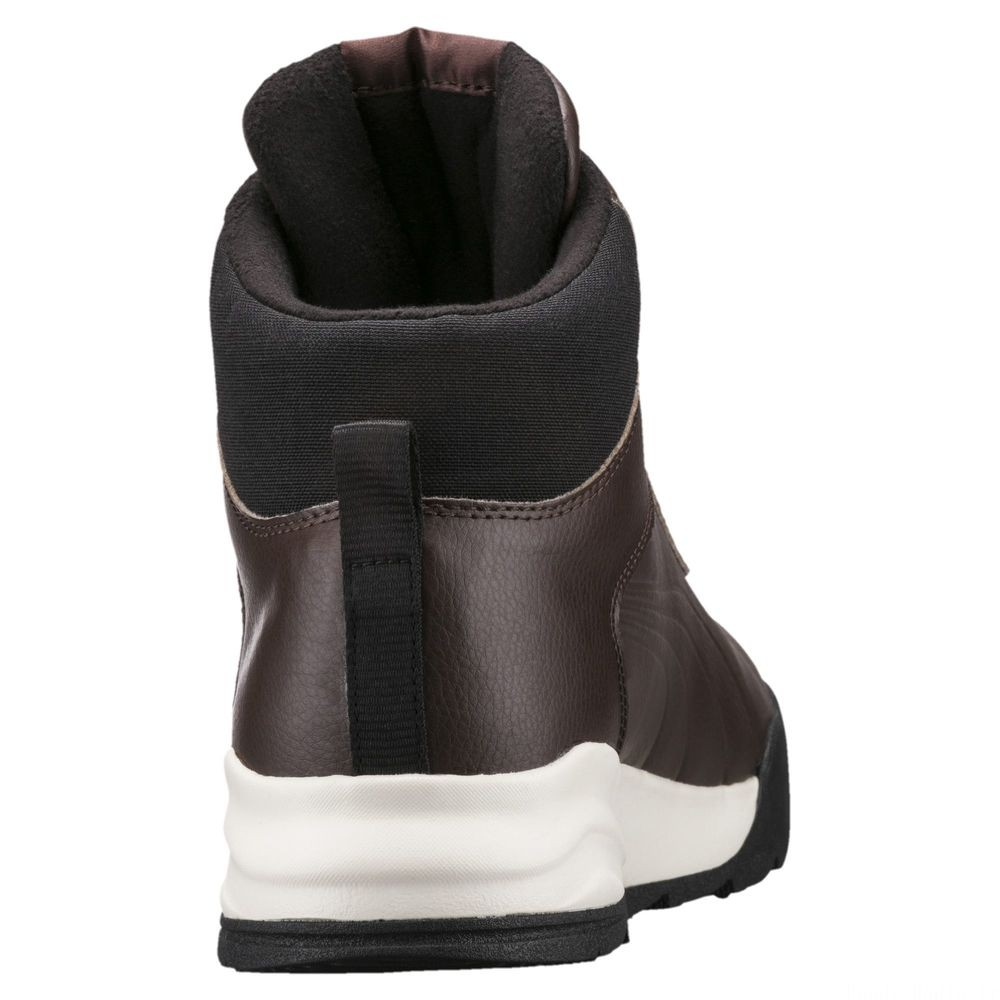 Chaussure montante Desierto Sneaker L Couleur Brown-Chocolate Brown