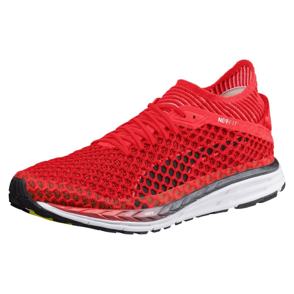 Speed IGNITE NETFIT 2 Couleur Red Blast-White-Black