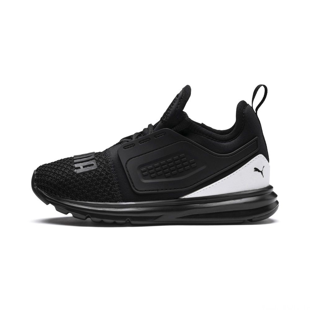 Basket IGNITE Limitless 2 Preschool pour enfant Couleur Puma Black-Puma White