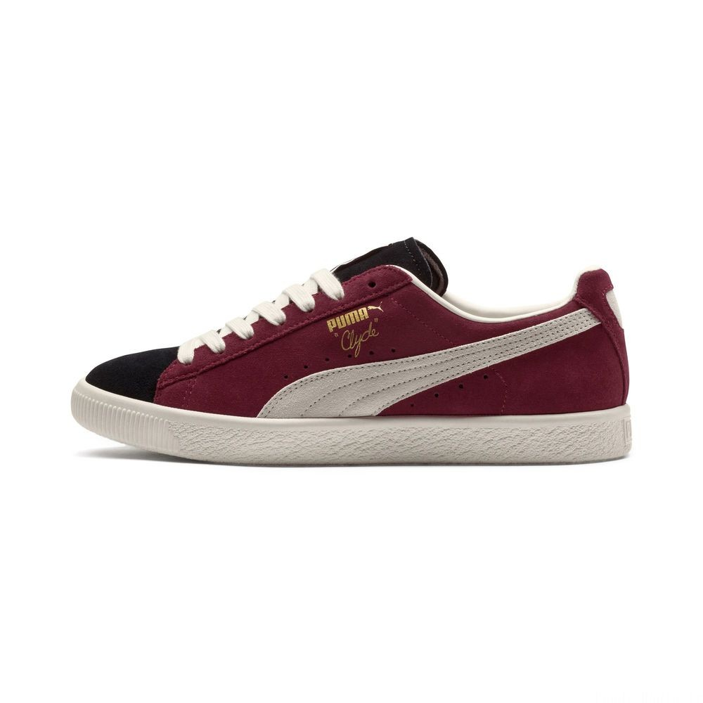Clyde From The Archive Couleur P Blk-Cordovan-Whisper Wht