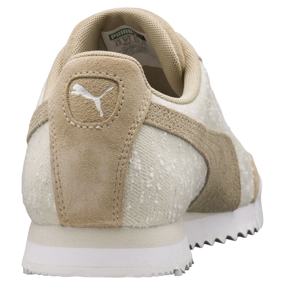 Basket Roma Pebble pour femme Couleur Pebble-Birch-Puma White