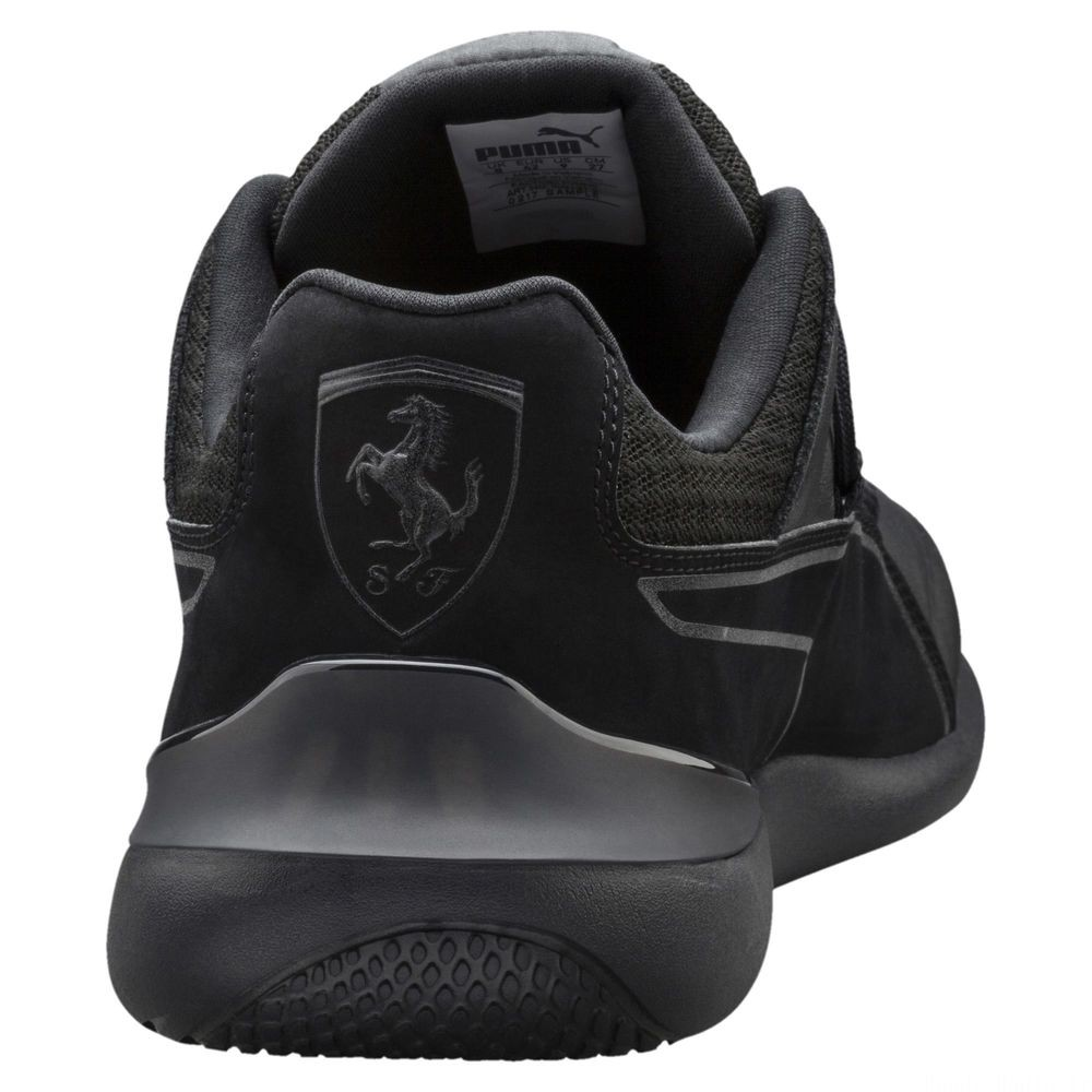 Basket Ferrari Evo Cat Night pour homme Couleur Puma Black-Puma Black