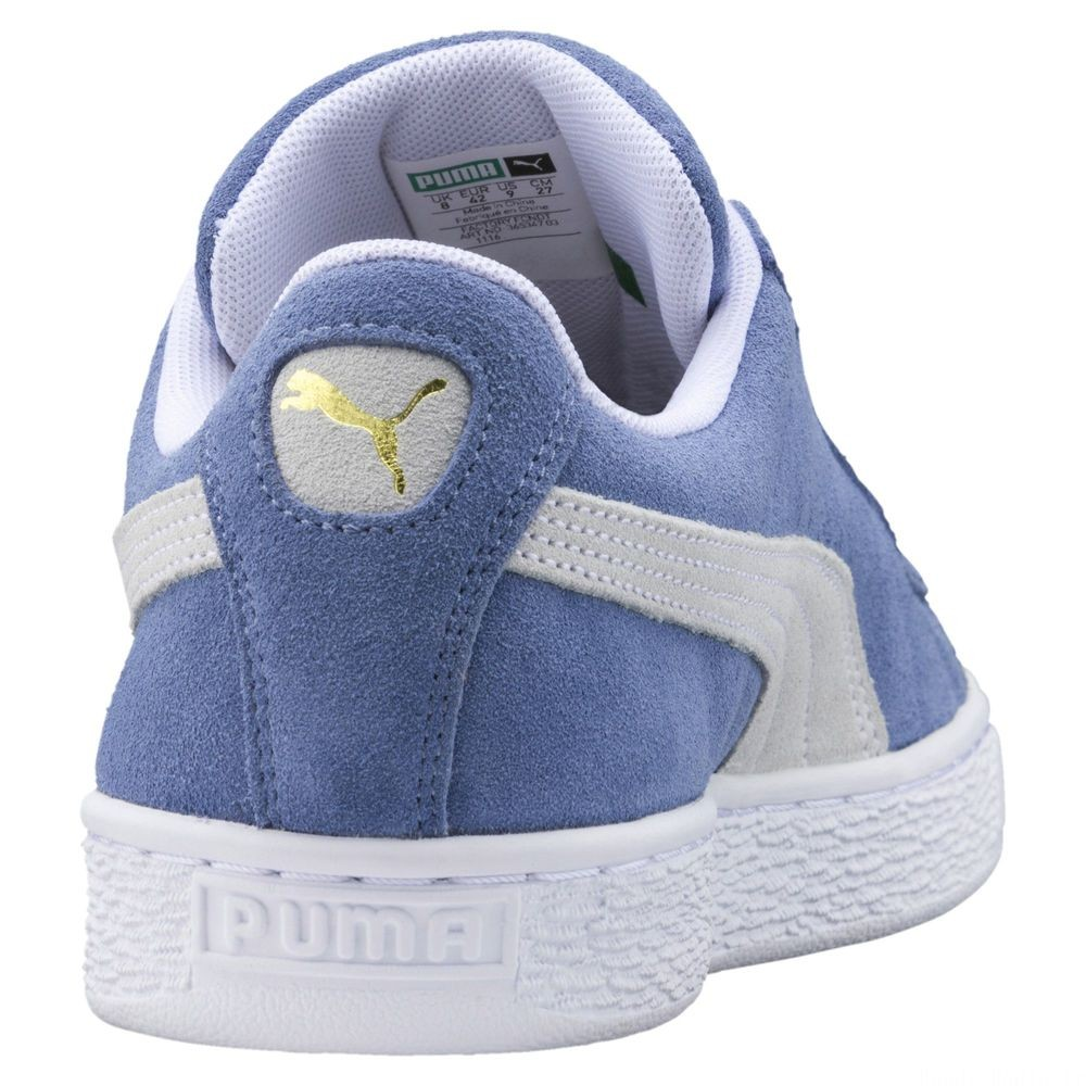 Suede Classic Couleur Infinity-Puma White