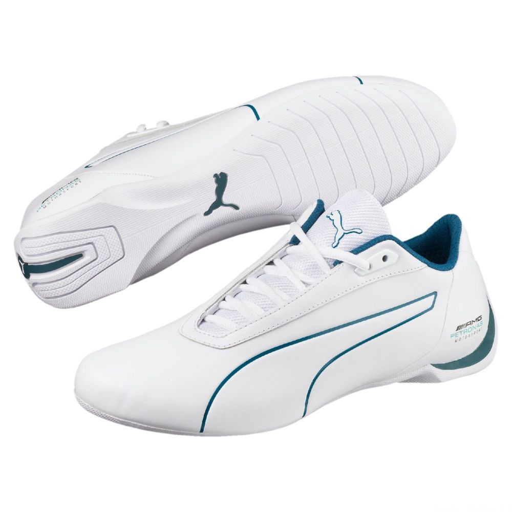 Basket MERCEDES AMG PETRONAS Future Cat Couleur Puma White-Blue Coral