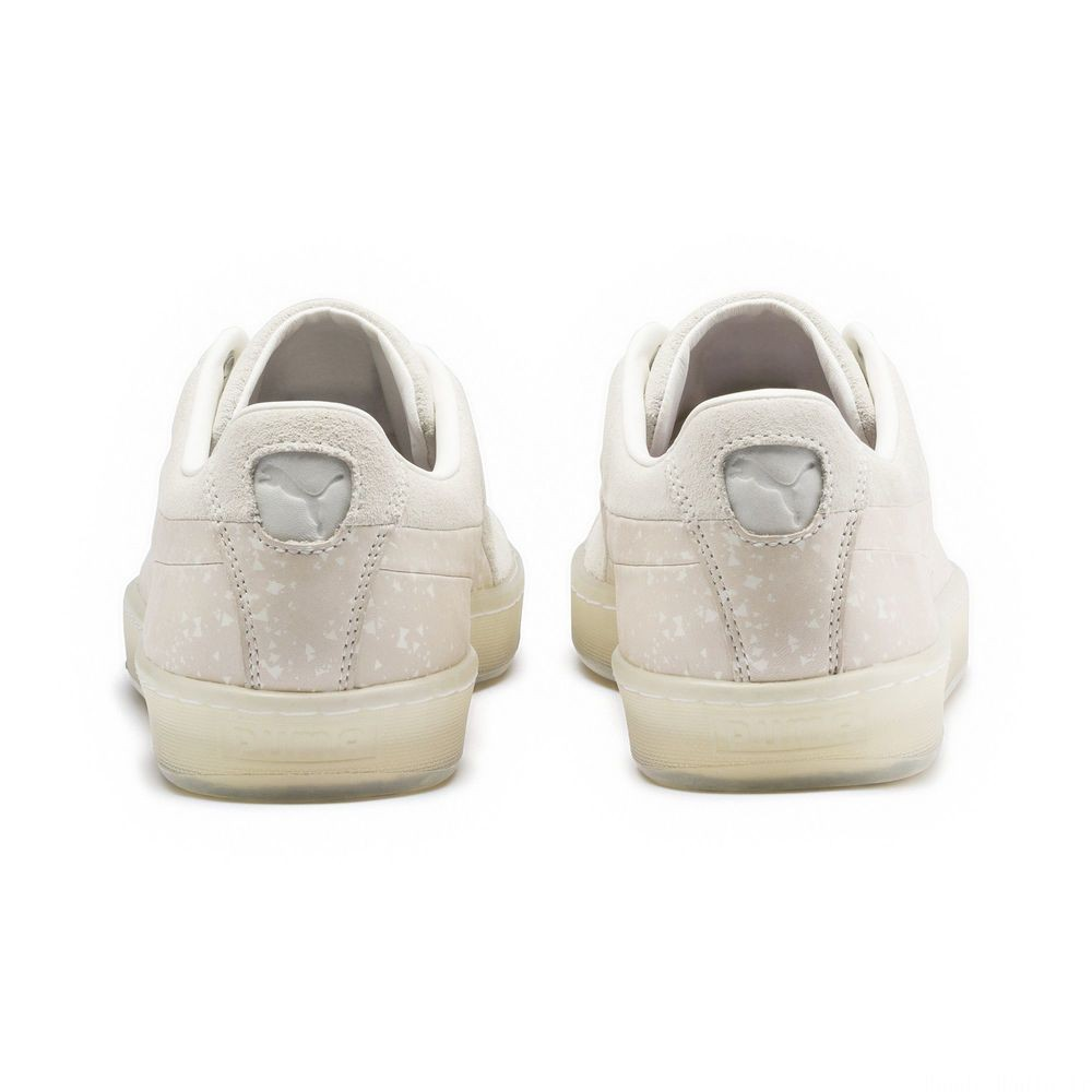 Basket Suede PUMA x NATUREL Couleur Whisper White-Almond