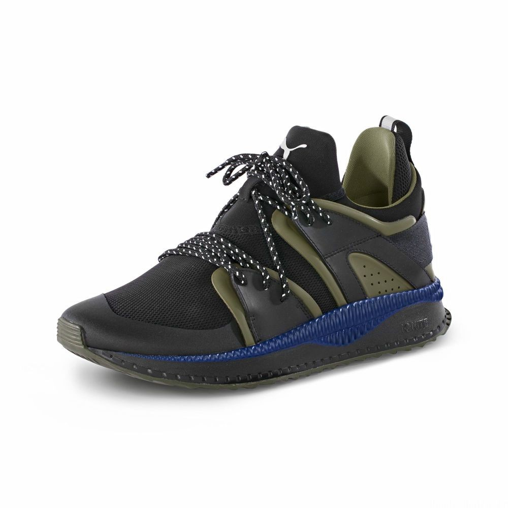 Blaze PUMA x STAPLE TSUGI Couleur Puma Black-Olive Night