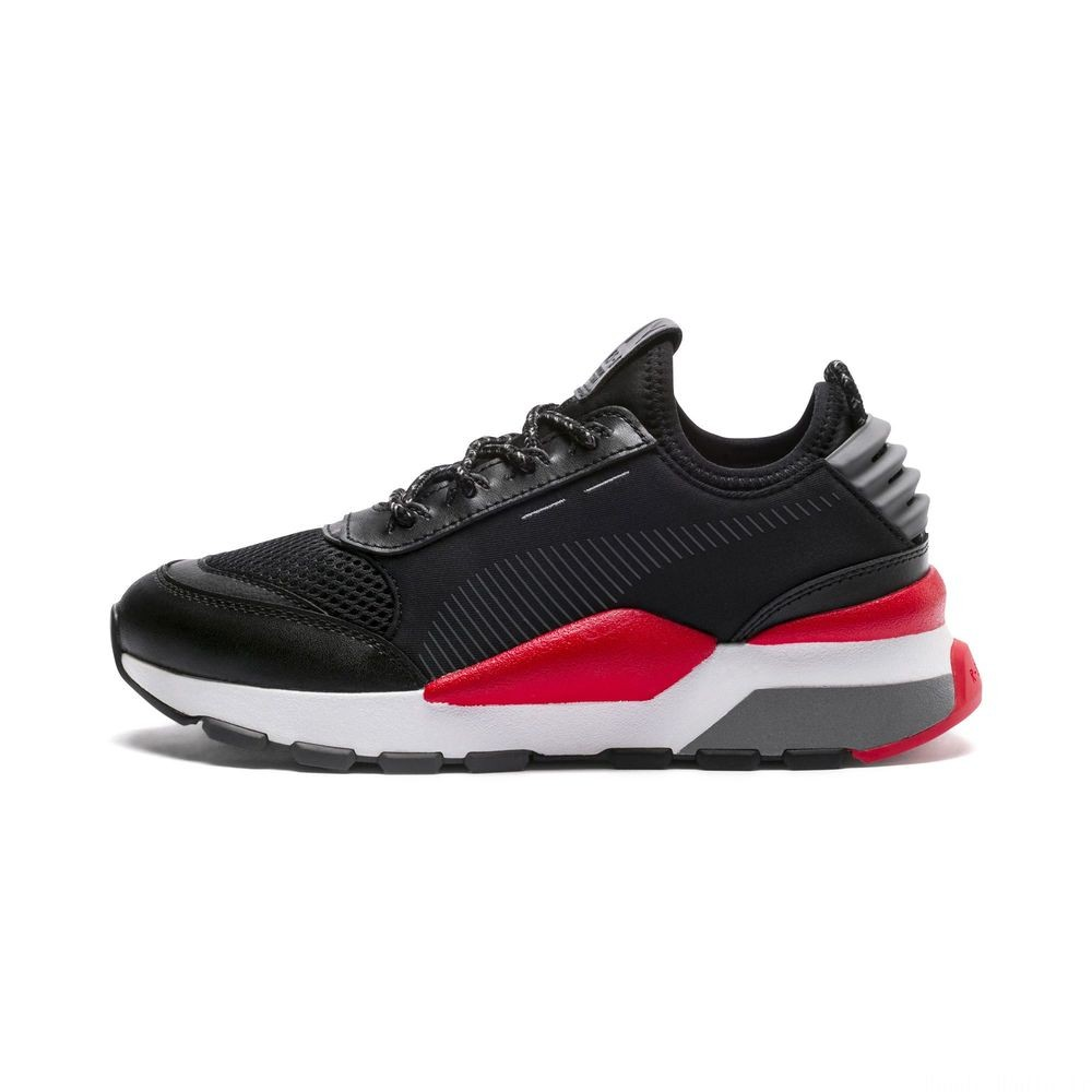Basket RS-0 PLAY pour enfant Couleur Black-Puma Black-White