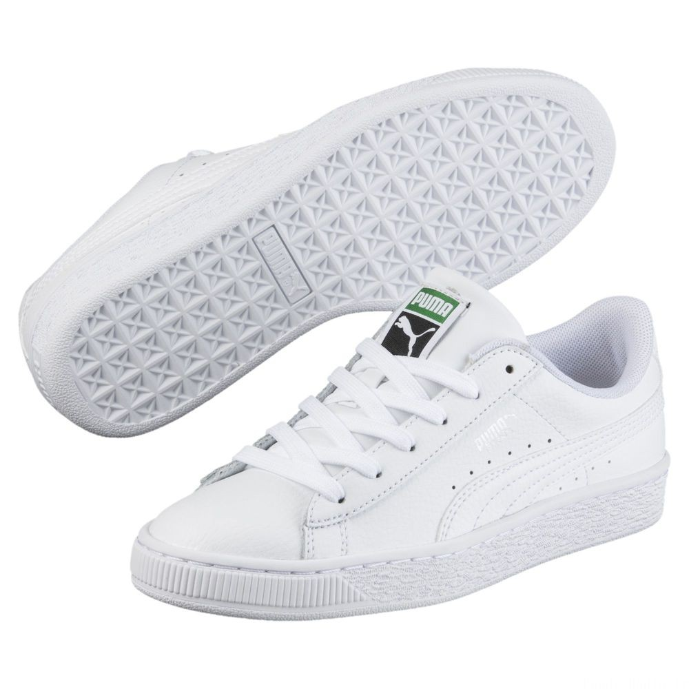 Basket Classic LFS PS Couleur Puma White-Puma White