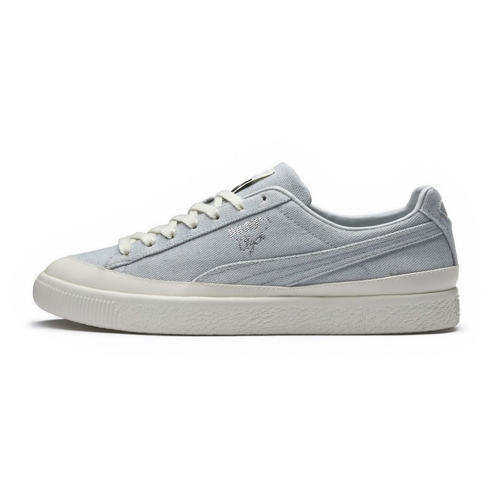 Basket Clyde PUMA x DIAMOND Couleur Glacier Gray-Glacier Gray